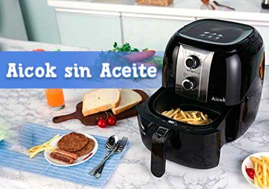 Freidora Aicok sin Aceite