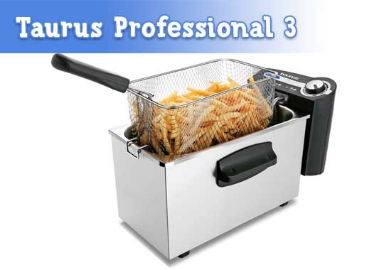 Freidora Taurus Profesional 3 Plus