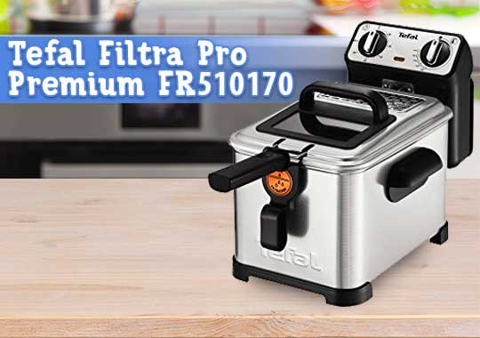 Freidora Tefal Filtra Pro Premium