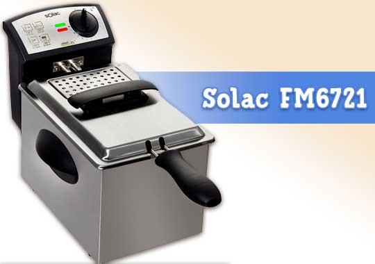 Freidora Solac FM6721