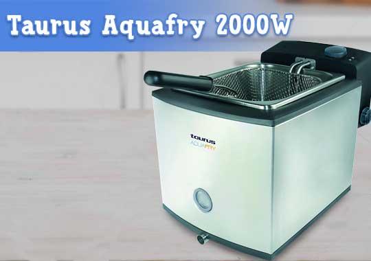Freidora Taurus Aquafry 2000W
